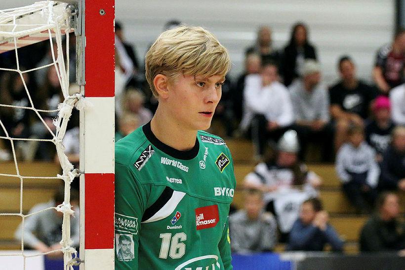Viktor Gísli Hallgrímsson verður annar markvörður A-landsliðsins í leiknum í …