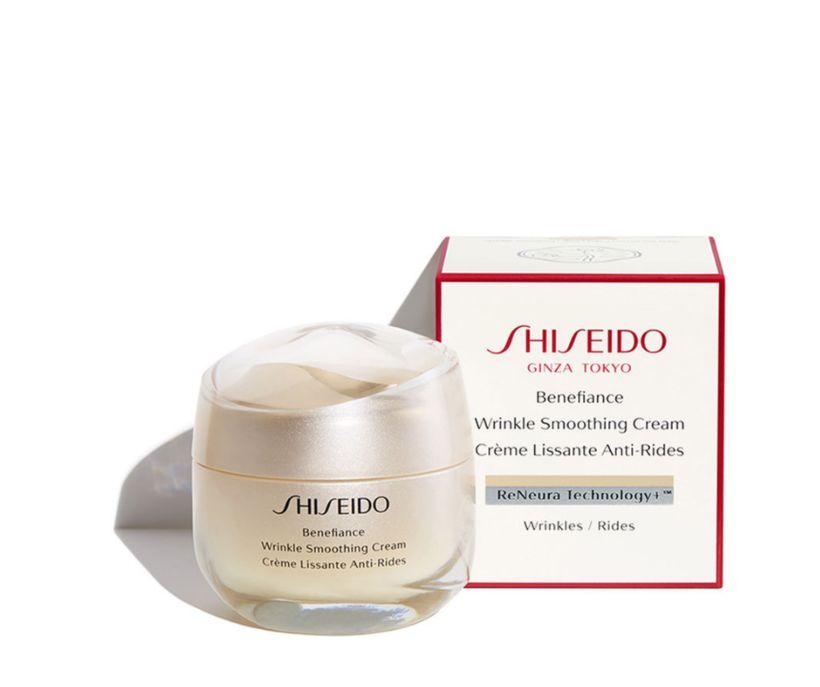 Shiseido Benefiance Wrinkle Smoothing Cream.