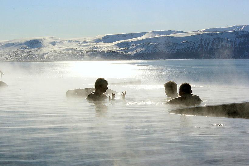 Sjóböðin á Húsavík eru mjög eftirsótt.