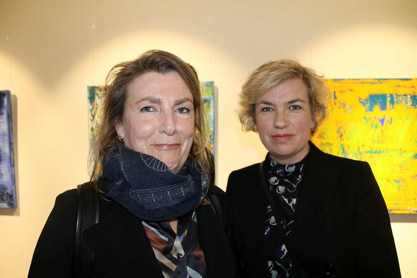 Anna Gyða Gylfadóttir og Sif Ásthildur Guðbjartsdóttir.
