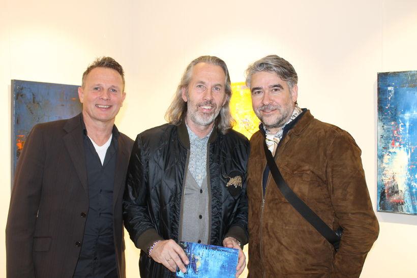 Reynir Kristinsson, Friðrik Þór Halldórsson og Viktor Urbancic.