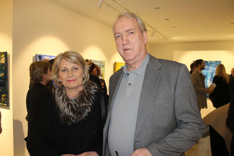 Sigurlaug Sveinsdóttir og Sigurður Vilhelmsson.