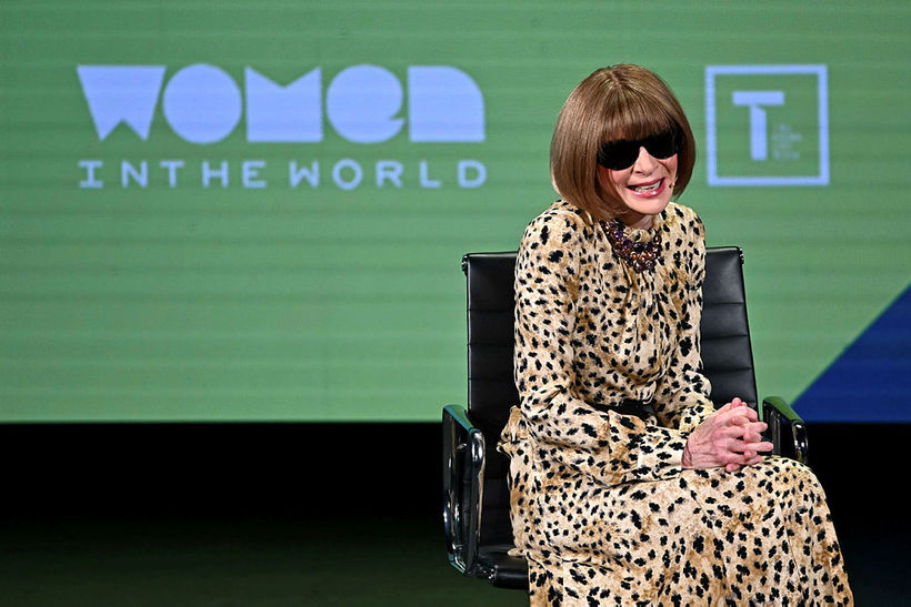 Anna Wintour ritstýrir Vogue.