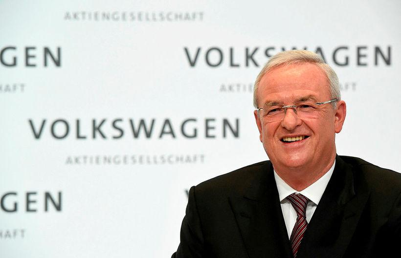 Martin Winterkorn, fyrrverandi forstjóri Volkswagen, hefur verið ákærður af þýskum ...