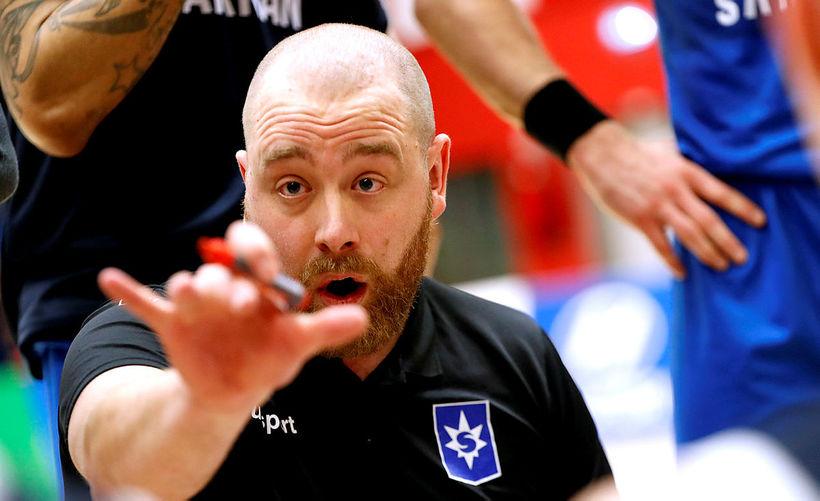 Arnar Guðjónsson er orðinn þreyttur á ummælum Borche Ilevski.