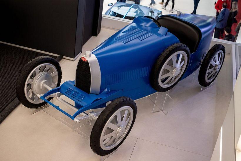 Bugatti Baby II fer í framleiðslu í haust.