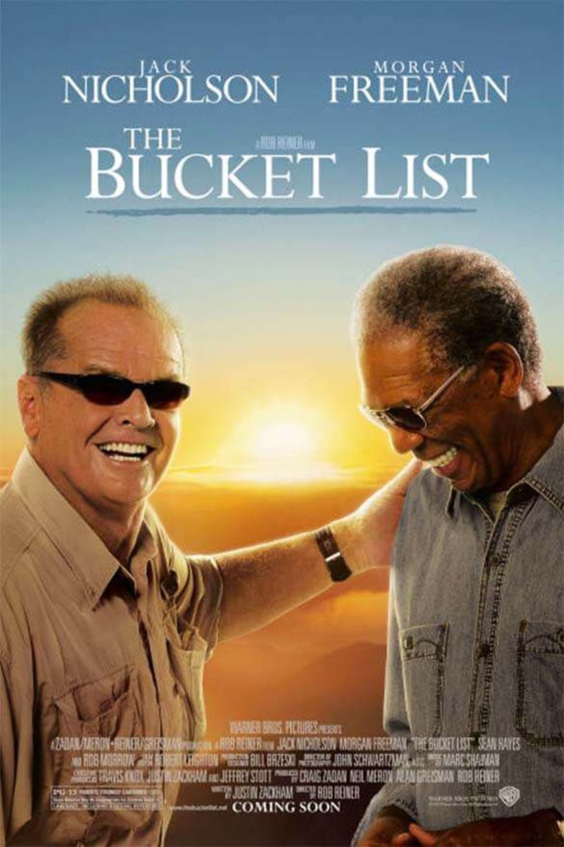 Félagarnir Jack og Morgan voru frábærir í The Bucket List.