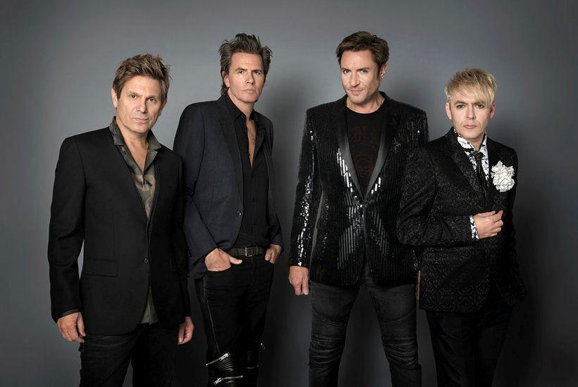 Duran Duran í dag: (F.v.) Rogert Taylor, John Taylor, Simon ...