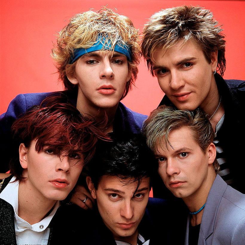 Ungir menn á níunda áratugnum. Duran Duran var ein vinsælasta ...