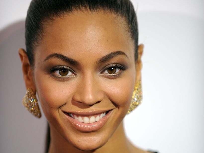 Beyoncé lenti í öðru sæti.