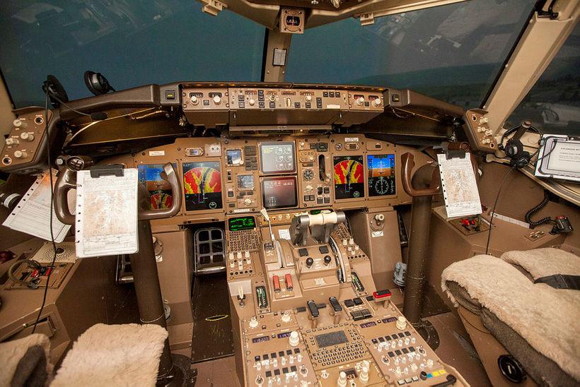 Flughermir hjá Icelandair.