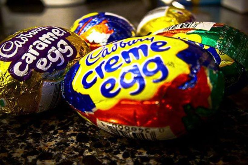 Veikleiki Mendes liggur í þessu! Cadbury Creme Egg eru hennar ...