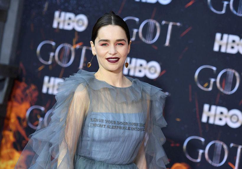 Breska leikkonan Emilia Clarke.