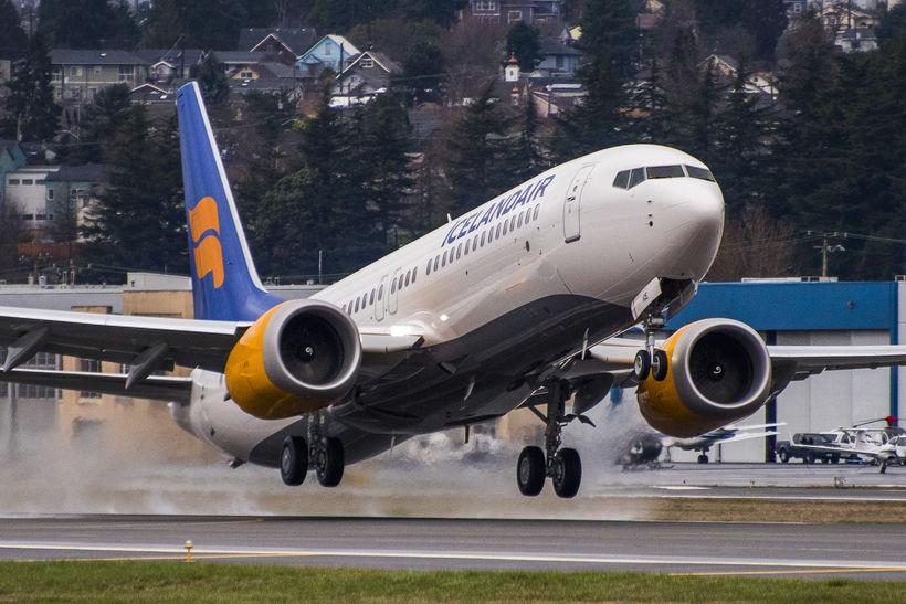 Boeing 737 MAX-8 þota Icelandair.