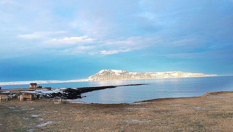 Finnafjörður fjord, Northeast Iceland.