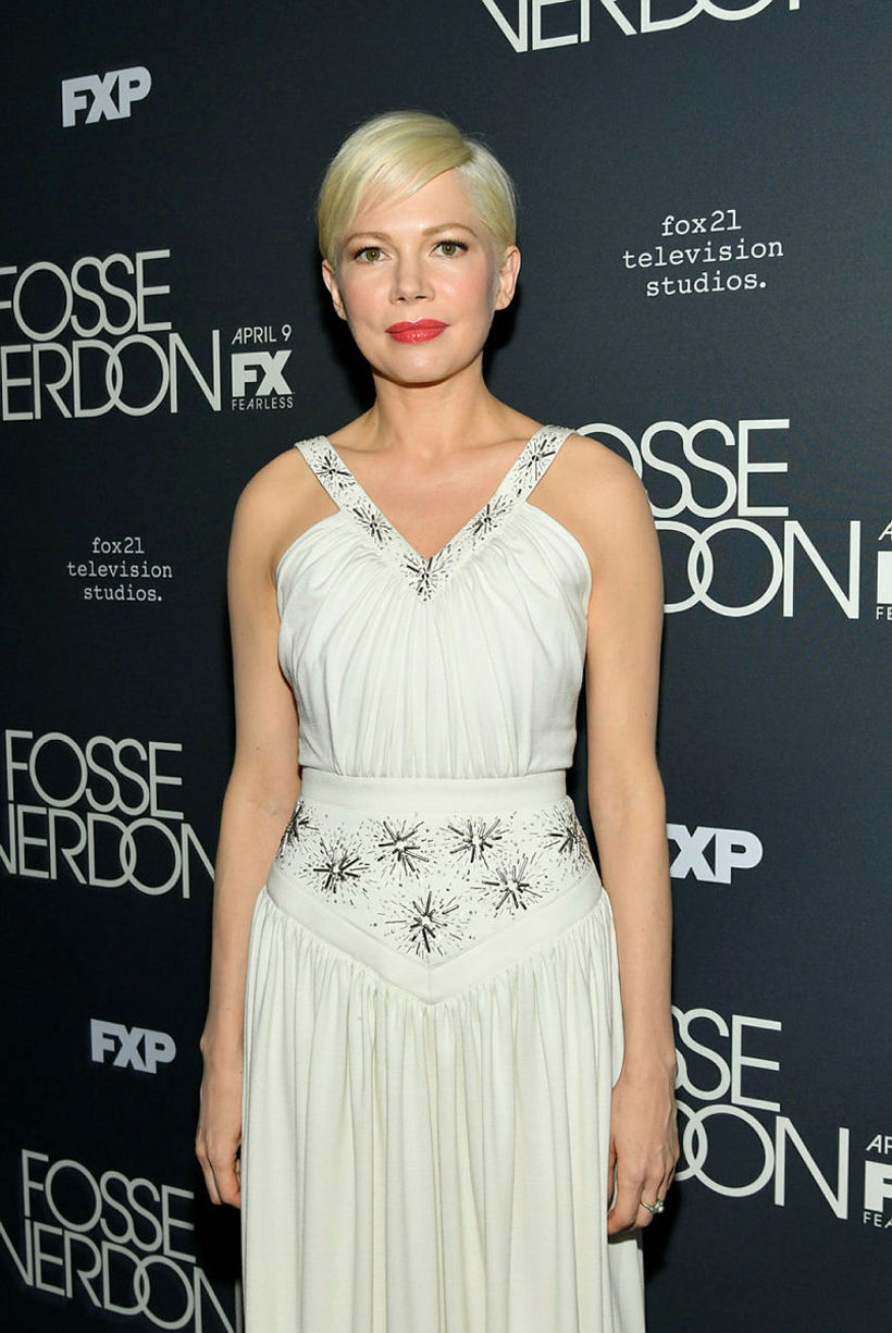 Michelle Williams. Hvar er giftingahringurinn?