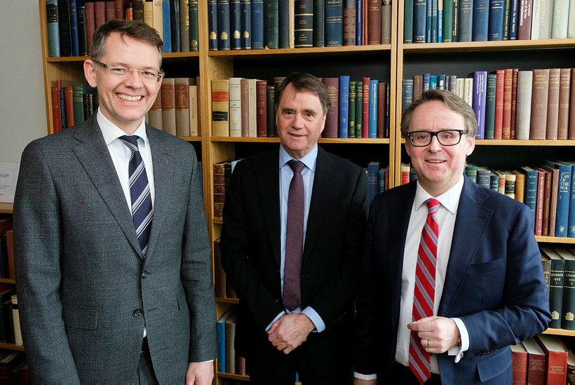 Eyvindur G. Gunnarsson, Þorgeir Örlygsson og Benedikt Bogason.