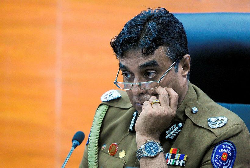 Pujith Jayasundara, lögreglustjóri Sri Lanka, hefur sagt af sér vegna ...