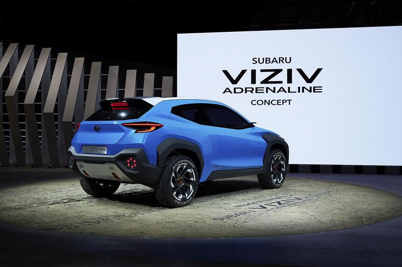 Hugmyndabíllinn Subaru Viziv Adrenalin er verklegur.