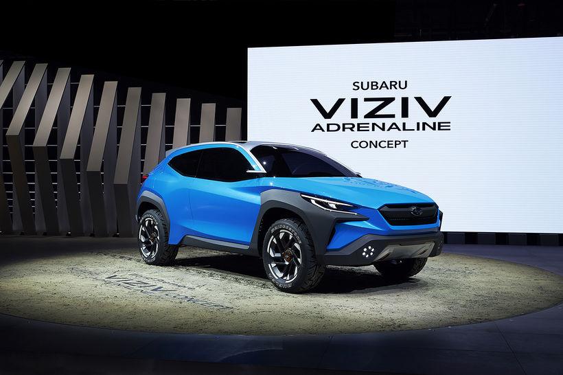 Hugmyndabíllinn Subaru Viziv Adrenalin.