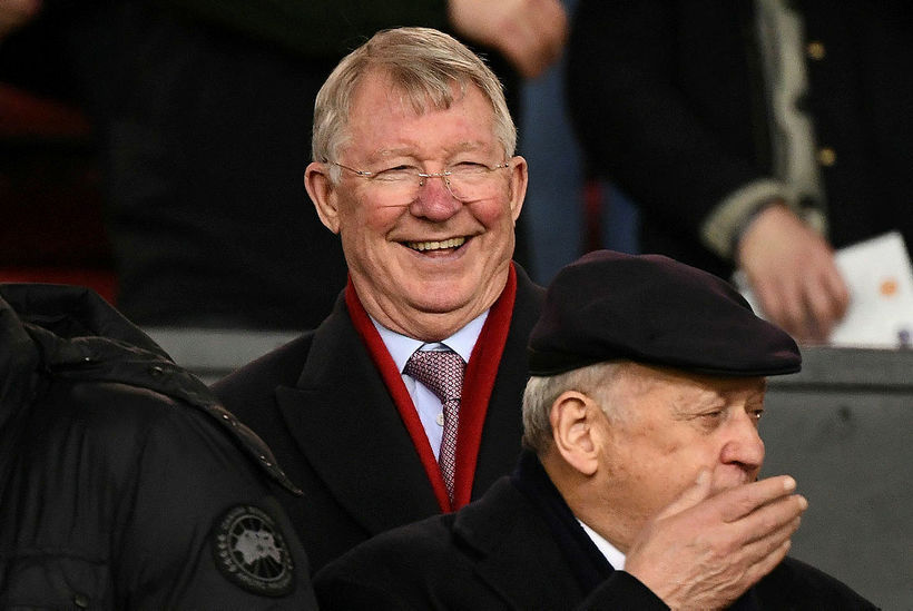 Alex Ferguson er á flestöllum leikjum Manchester United.