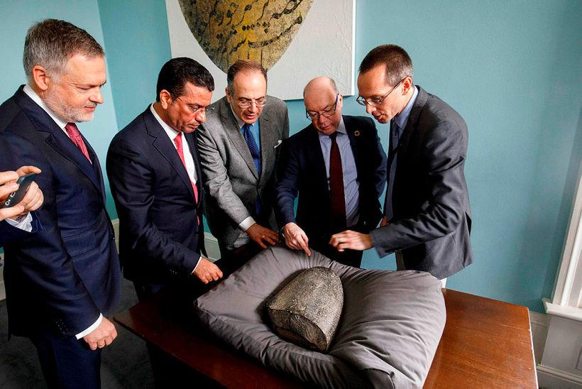 Hartwig Fischer, Salih Husain Ali, Michael Ellis og Alistair Burt ...