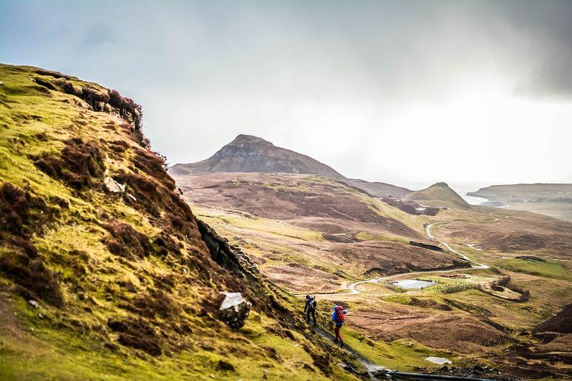 Hálendi Skotlands minnir um margt á Ísland.