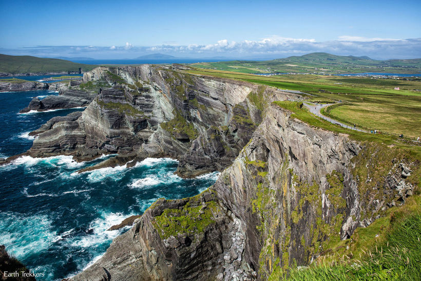Nátturufegurðin á Írlandi laðar að ferðamenn.