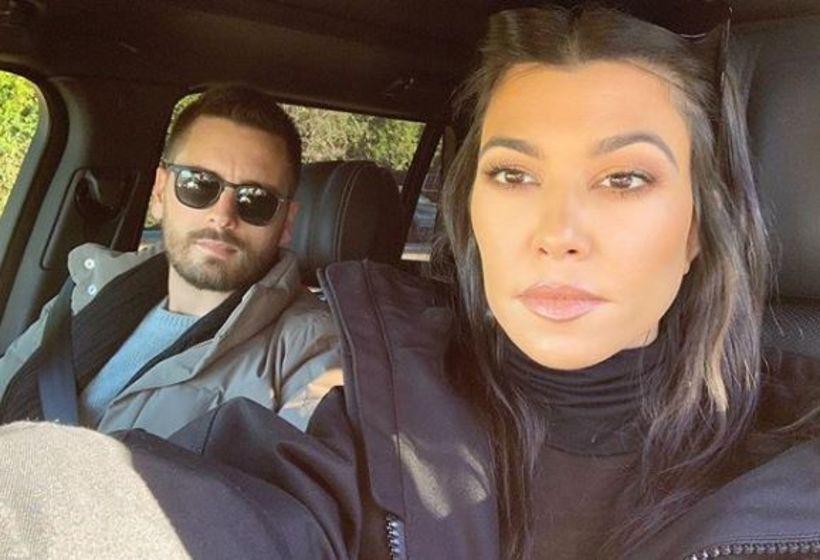Scott Disick og Kourtney Kardashian eru góðir vinir í dag. ...