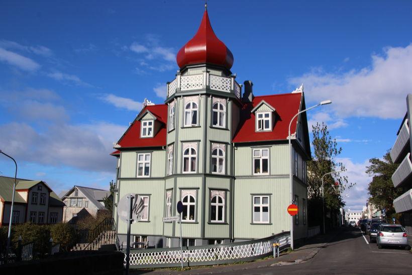 Næpuna þekkja flestir sem þvælast um Þingholtin.