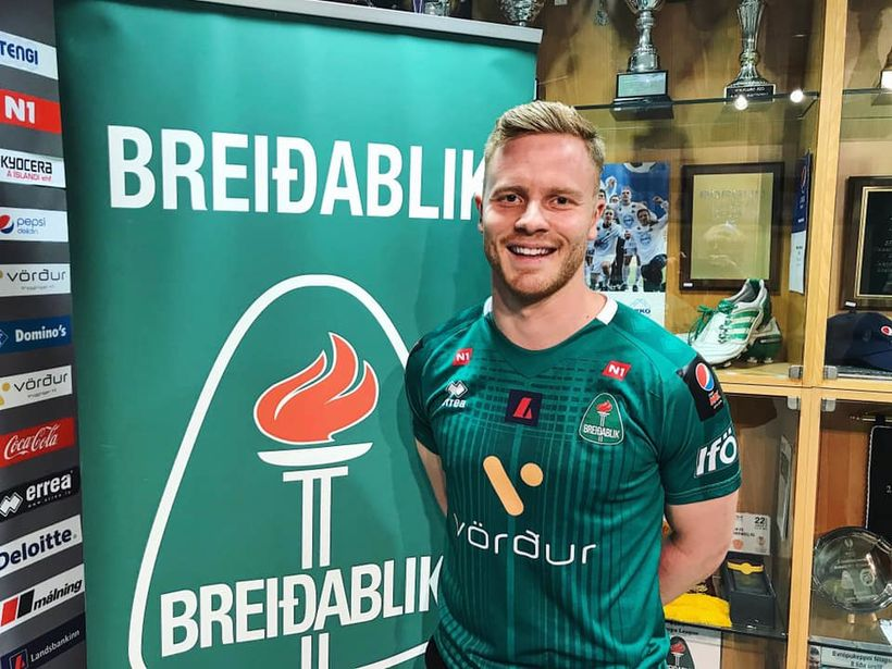 Knattspyrnumaðurinn Arnar Sveinn Geirsson skrifaði nýlega undir samning við Breiðablik. ...