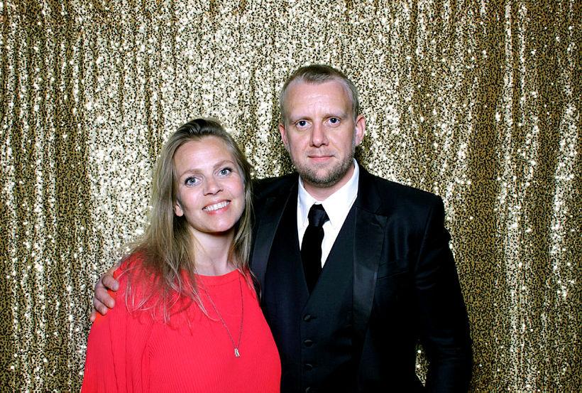 Katrín Rut Bessadóttir og Helgi Seljan.