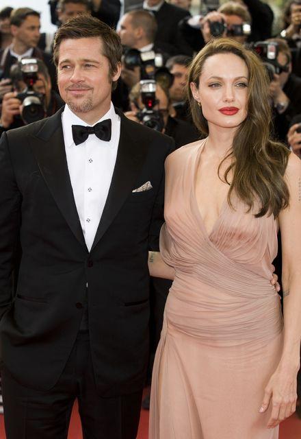 Á meðan að allt lék í lyndi hjá Brad Pitt …