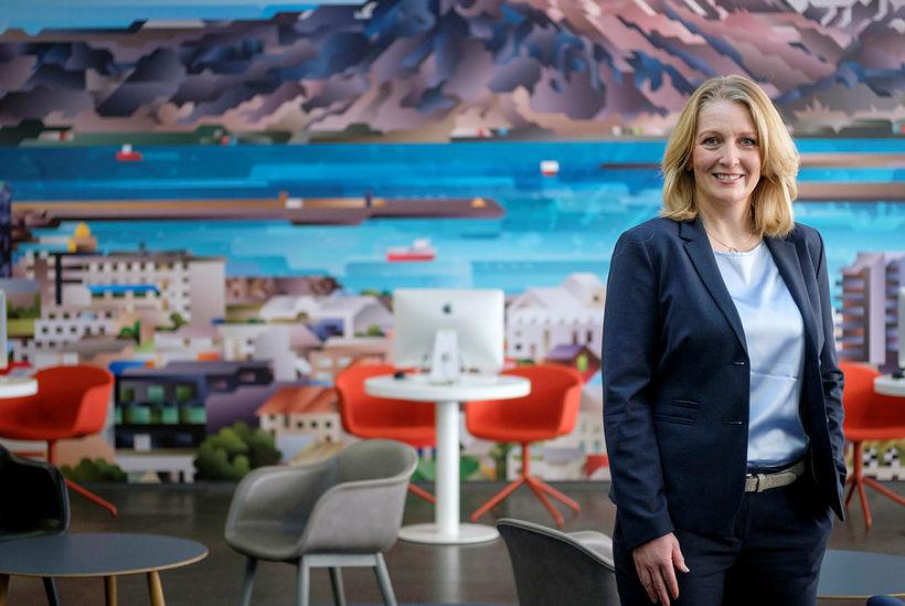 Lilja Björk Einarsdóttir, bankastjóri Landsbanka.
