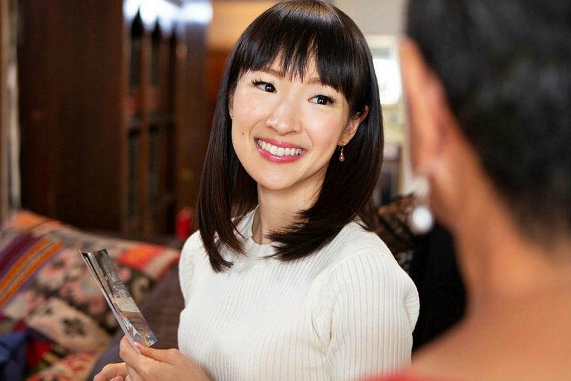 Marie Kondo er japanskur tiltektar snillingur.