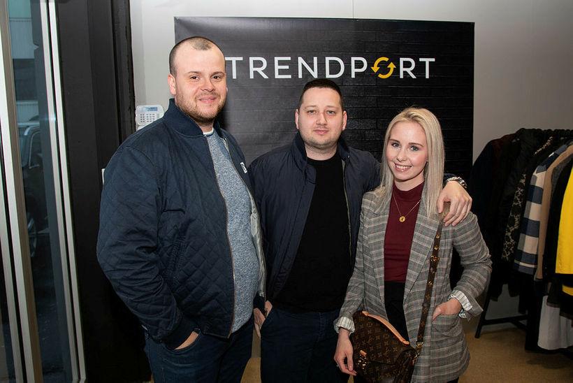 Þorsteinn Hallsson, Geir Elí Bjarnason og Júlíana Andrésdóttir.
