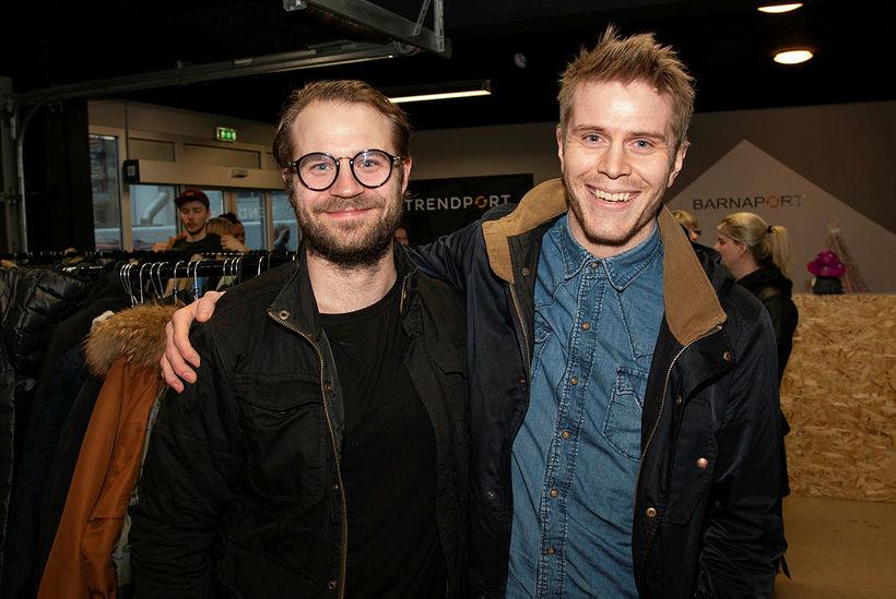 Egill Björgvinsson og Hagalín Viðar.