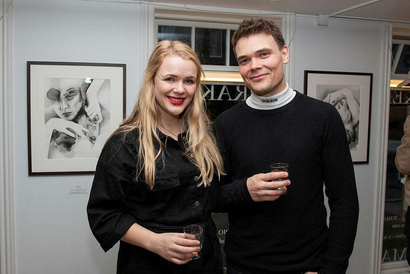 Anna Marisbil Klausen og Eiríkur Sigurðarson.