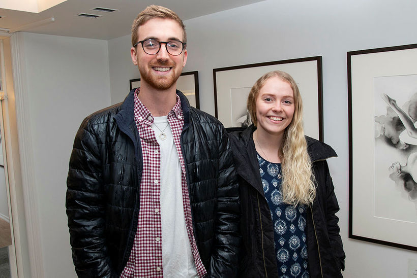 Jacob Haase og Rebekka Katrín Arnþórsdóttir.