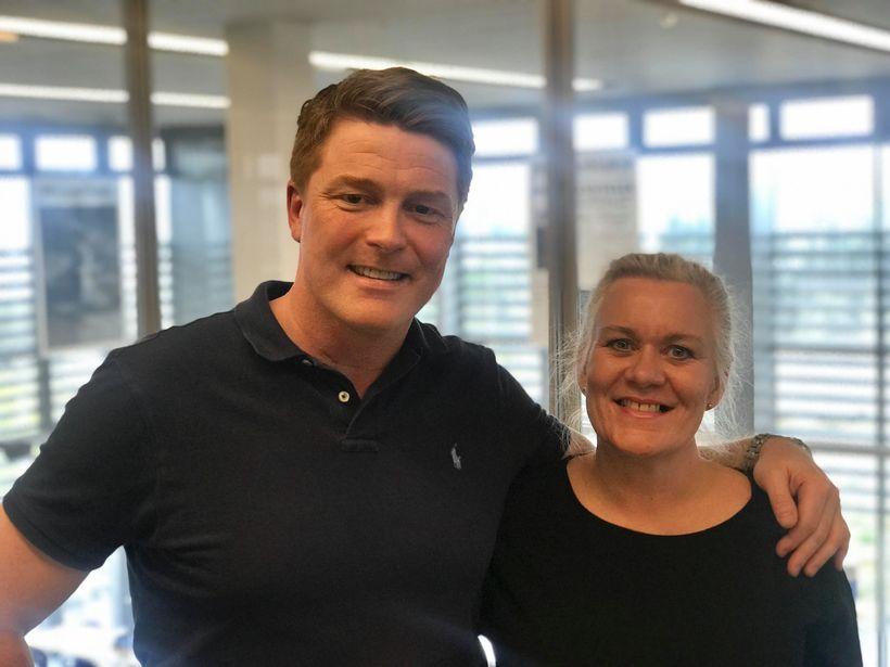 Sigmar Vilhjálmsson athafnamaður og Rakel Sveinsdóttir formaður FKA mættu á ...