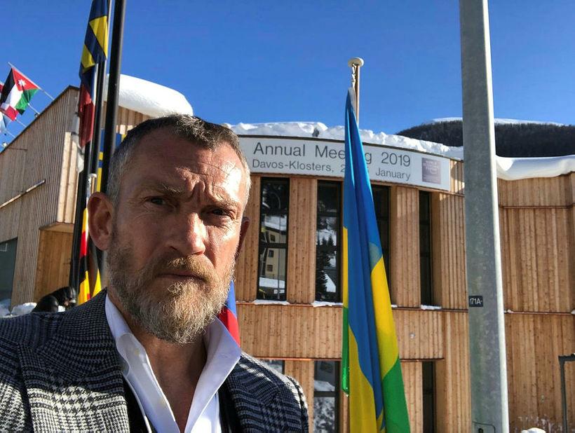 Björgólfur Thor Björgólfsson í Davos fyrr á þessu ári.