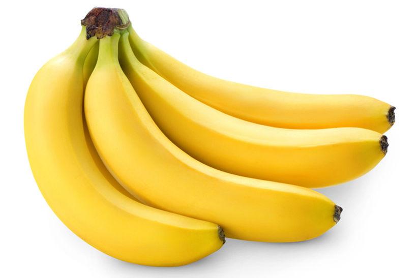 Bananar eiga ekki heima í ísskáp því ef þú setur ...