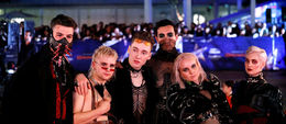 Hatari, at the opening ceremony party Saturday night.