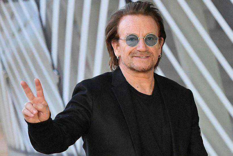 Bono aðalsöngvari hljómsveitarinnar U2.