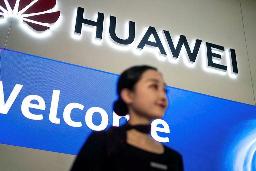 Talið er að tilskipunin beinist að kínverska fyrirtækinu Huawei.