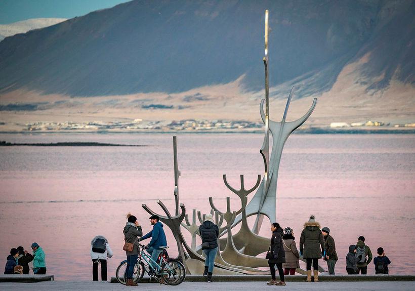 Sólfarið er eitt helsta aðdráttaraflið fyrir ferðamenn sem hingað koma.