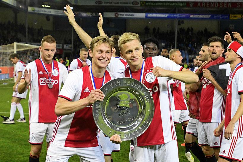 Frenkie de Jong og Donny van de Beek