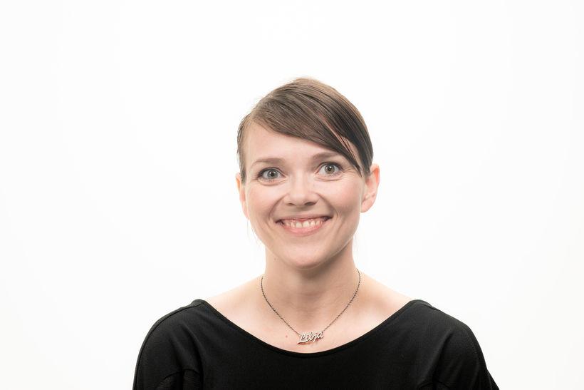 Lilja Katrín Gunnarsdóttir, nýr ritstjóri miðla Frjálsrar fjölmiðlunar, meðal annars ...