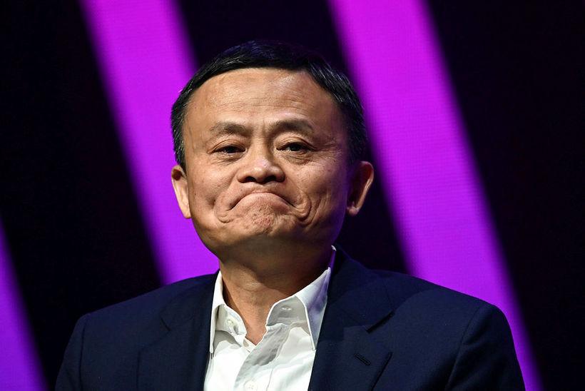 Jack Ma er stofnandi Alibaba.