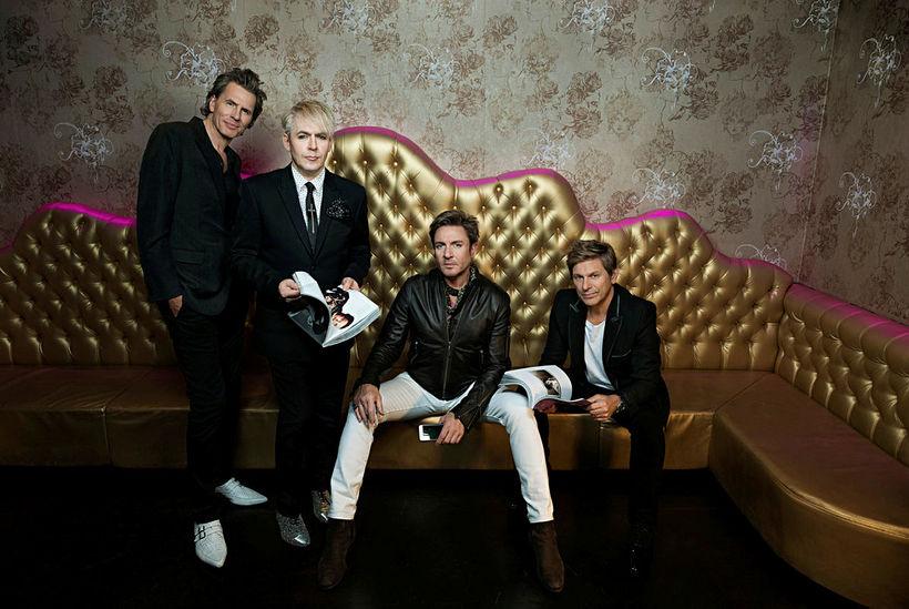 Duran Duran í dag. Sveitin var stofnuð árið 1978 og …